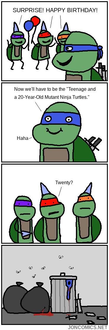 TMNT Birthday